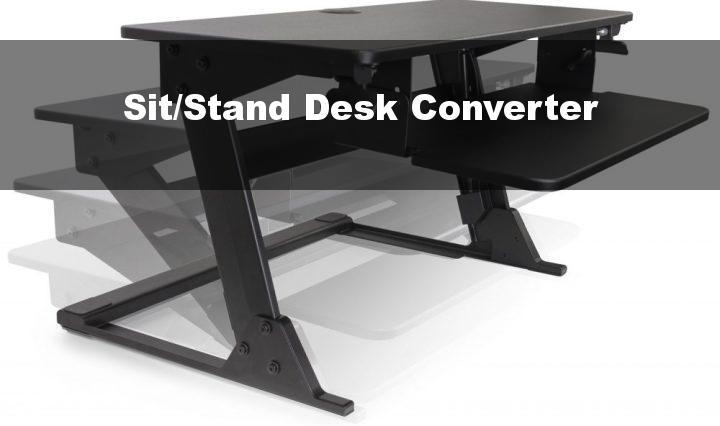 Sit/Stand Desk Converter
